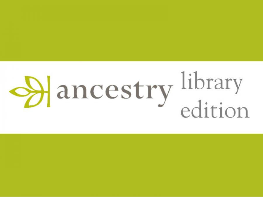 Logo Ancestry Library Edition